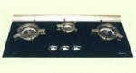 RB-3CGL(B)-內燃火嵌入式陶瓷玻璃面三頭爐